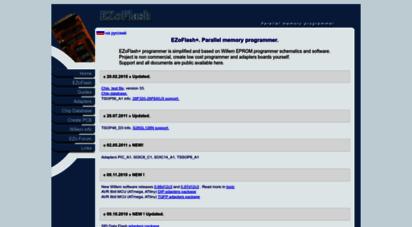 Welcome to Ezoflash com - New EZoFlash+  Parallel memory programmer