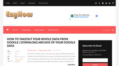 ezyhow.com - ezyhow - how to guides & tutorials