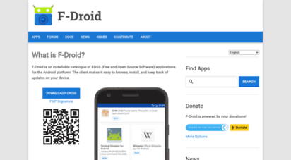 f-droid.org - f-droid - free and open source android app repository