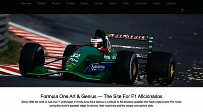 f1-grandprix.com - formula one art & genius