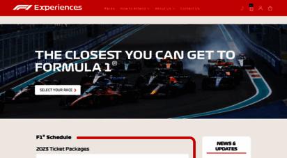 f1experiences.com