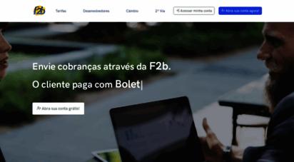 f2b.com.br - f2b - seu sucesso é nosso ideal