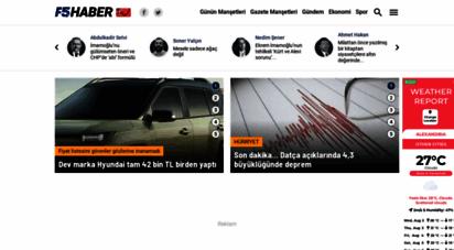 f5haber.com - f5 haber, gazeteler, haberler, son dakika haberleri