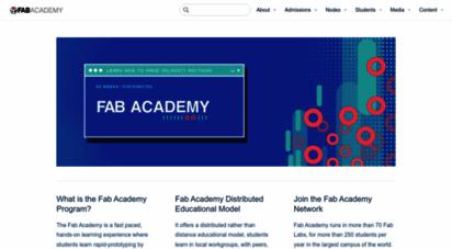 fabacademy.org - fab academy