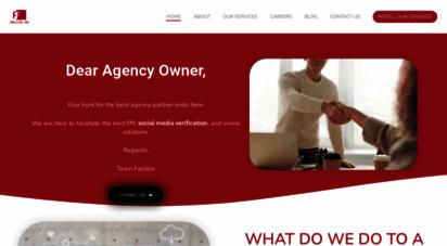 faciliusinc.com - facilius inc - content marketing agency