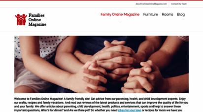 familiesonlinemagazine.com - families online magazine