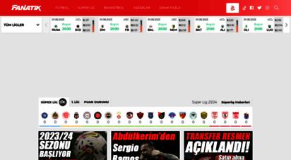 fanatik.com.tr - fanatik spor haberleri - son dakika spor haberleri