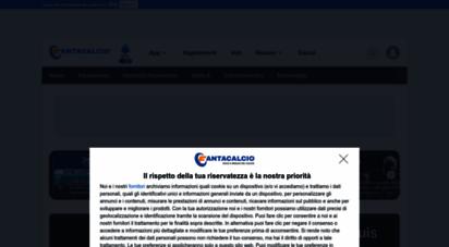 fantacalcio.it - fantacalcio.it - notizie, voti, ssist, gol, pagelle, statistiche del campionato serie a in tempo reale