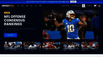 fantasypros.com - fantasy football rankings, 2020 projections, fantasy baseball cheat sheets  fantasypros