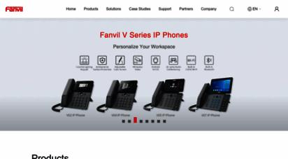 fanvil.com - fanvil technology co., ltd