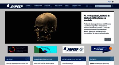 fapesp.br - fapesp :: fundação de amparo à pesquisa do estado de são paulo