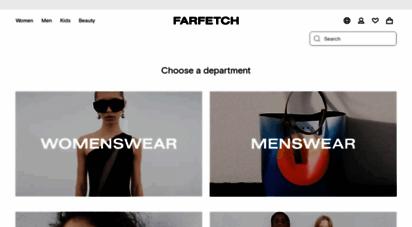 farfetch.com - farfetch - designermode für damen & herren