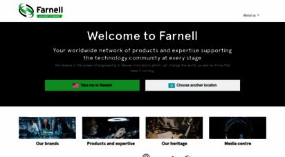 farnell.com - farnell  electronic component distributors