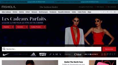 fashiola.fr - fashiola.fr - shopping en ligne: comparez la mode et économisez!