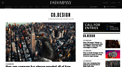 fastcodesign.com - co.design  fast company