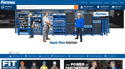 fastenal.com - fastenal - industrial supplies, oem fasteners, safety products & more