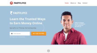 fastrupee.com - how to earn money online in india without investment