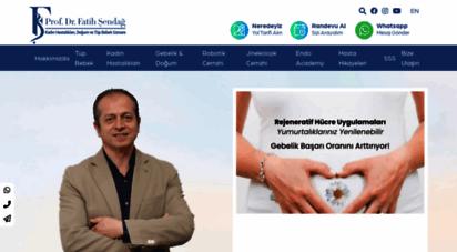 fatihsendag.com - ana sayfa - prof. dr. fatih şendağ - izmir