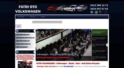 fatihvolkswagen.com - volkswagen çıkma parça - volkswagen yedek parça  fatih volkswagen