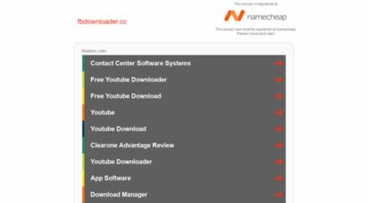 Welcome to Fbdownloader cc - Facebook Video Downloader - Online