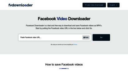fbdownloader.net -