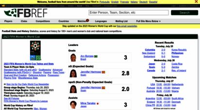 fbref.com - football statistics and history  fbref.com