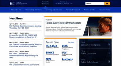 similar web sites like fcc.gov