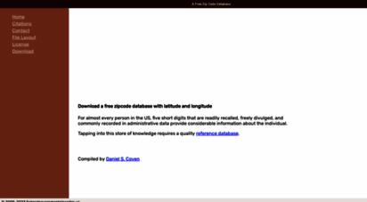 Welcome to Federalgovernmentzipcodes us - Free Zipcode