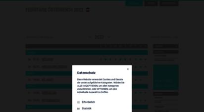 feiertage-oesterreich.at - feiertage österreich 2012 - kalender & infos