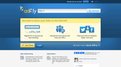fiaharam.net - adfly - the url shortener service that pays you! earn money for every visitor to your links.