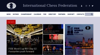 fide.com - international chess federation