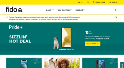 fido.ca - phones, plans and more - go get it  fido