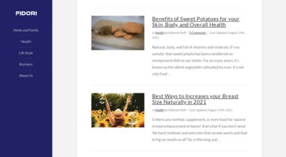 fidori.com - fidori - tips for health, family & relationships