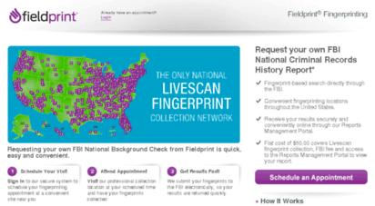 fieldprintusa.com - fieldprint fingerprinting, fbi criminal background check - home