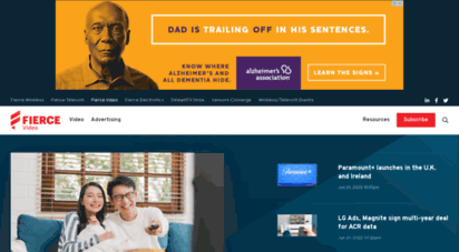 fiercevideo.com - fiercevideo  online video, cable business and technology news