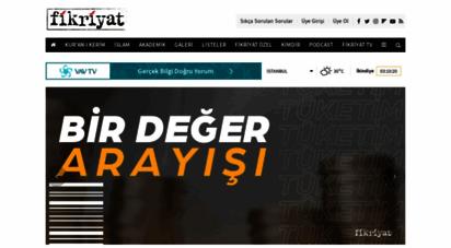 fikriyat.com - anasayfa - fikriyat gazetesi
