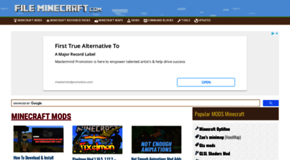 file-minecraft.com - best minecraft mods, skins, maps free download - file-minecraft.com