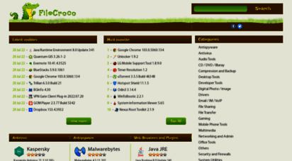 filecroco.com - download free software for windows - filecroco.com