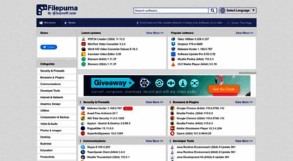 filepuma.com - free software downloads and reviews - filepuma.com