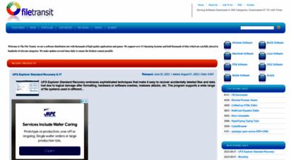 filetransit.com - filetransit - software downloads, news, reviews and more!