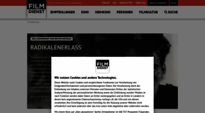 filmdienst.de - startseite