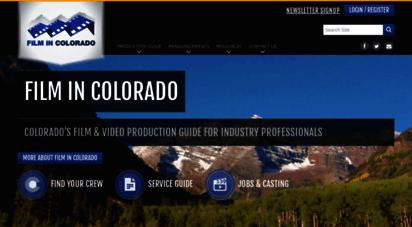 filmincolorado.com - colorado film & video production  film in colorado