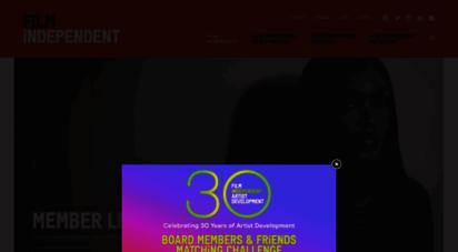 filmindependent.org - home - film independent