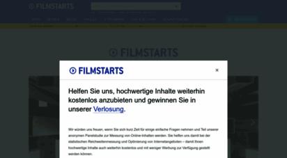 filmstarts.de - filme, kino, tv-serien, blu-ray, trailer, kinoprogramm, vod auf filmstarts.de