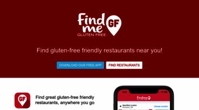 findmeglutenfree.com - find gluten free restaurants  find me gluten free