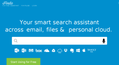 Welcome to Findo io - Findo — smart search from one place
