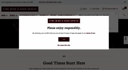 finewineandgoodspirits.com - pennsylvania wine & spirits premium collection