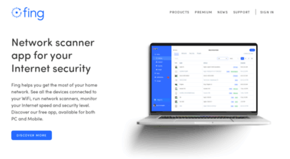 fing.com - fing - iot device intelligence for the connected world  fing