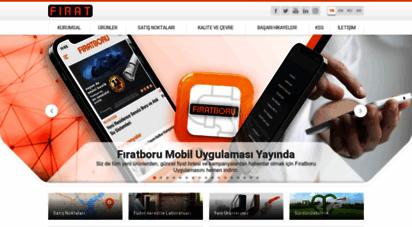 firat.com - pe & pprc & pvc boru, pvc pencere & kapı sistemleri  fırat
