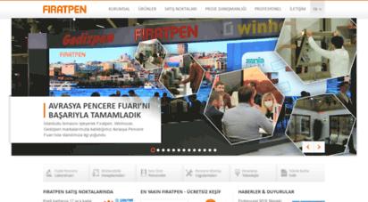 firatpen.com.tr - fıratpen ana sayfa - pvc kapı ve pencere sistemleri